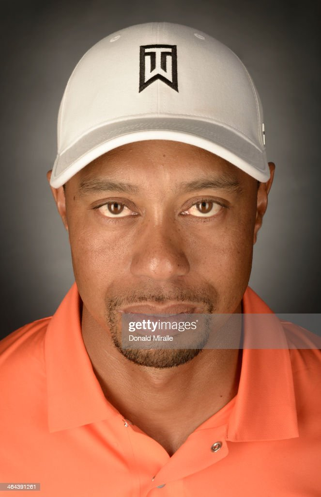 Tiger Woods poses for a portrait during the Zurich ProAm the Farmers Insurance Open at Torrey Pines Golf Course on January 22, 2014 in La Jolla, California.