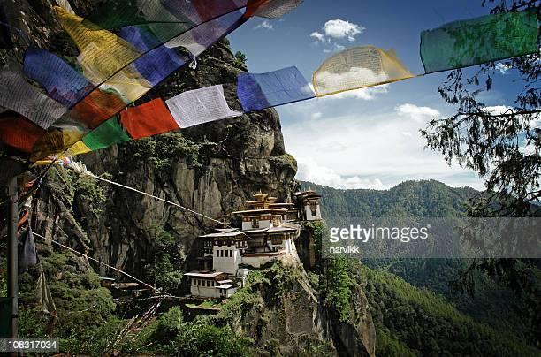 "Tiger's Nest ""(Taktshang) Kloster in Bhutan"