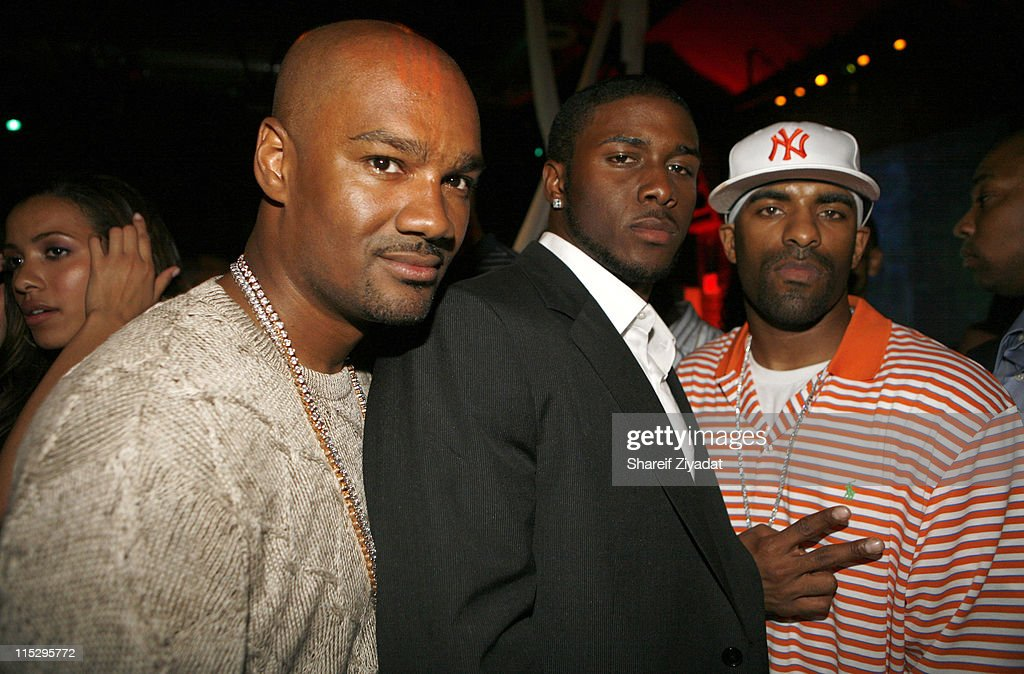 Tigger Reggie Bush and Dj Clue during Hummer ESPN The Mag Present The Official 3rd Annual PreDraft Celebrity BashTM Event Executive produced by...