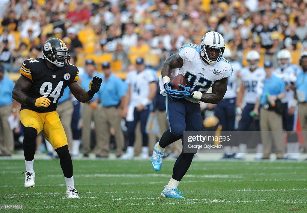 Tennessee Titans v Pittsburgh Steelers : Fotografia de notícias