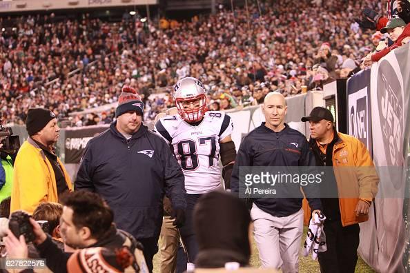 New England Patriots v New York Jets : News Photo