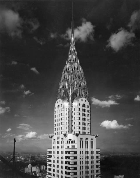 NY: 27th May 1930 - The Chrysler Building Opens in NY