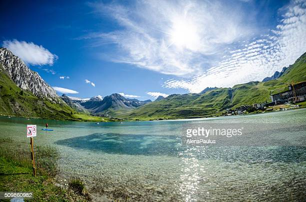 Tignes Lake - water sports