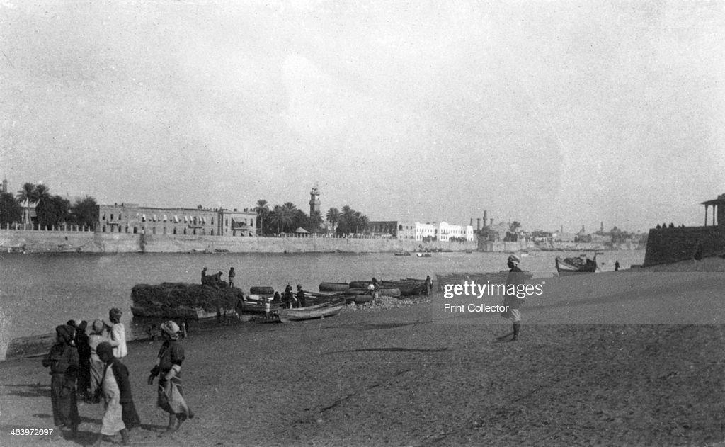 Tigris River Baghdad Iraq 19171919