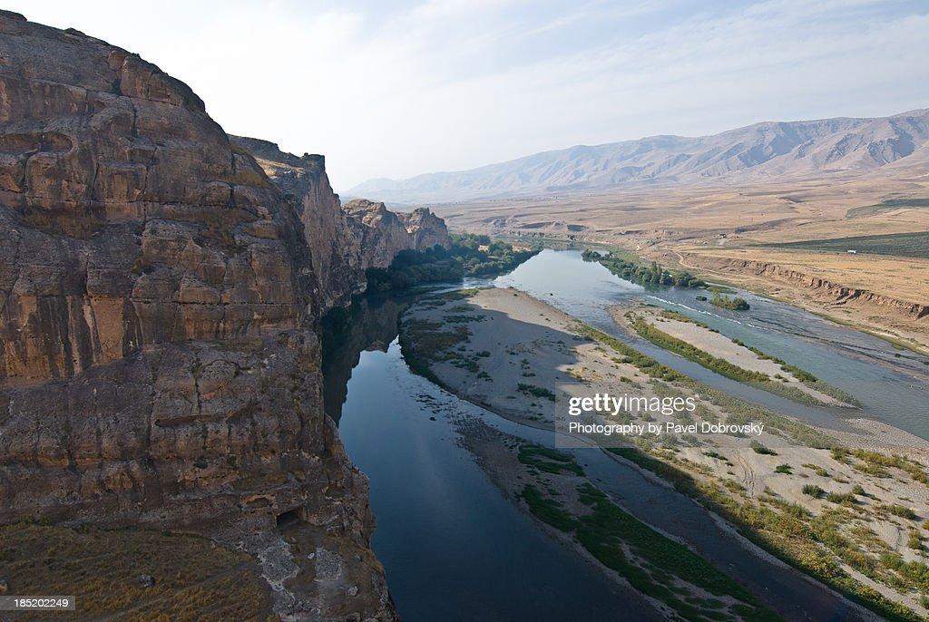 Tigris River near Hasankeyf, Turkey
