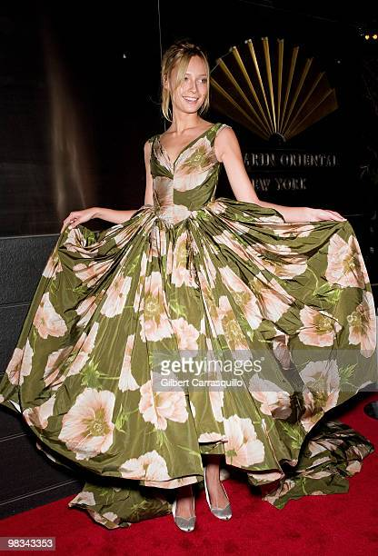 Tiiu Kuik attends the 7th Annual New Yorkers for Children Spring Dinner Dance at the Mandarin Oriental Hotel on April 8 2010 in New York City