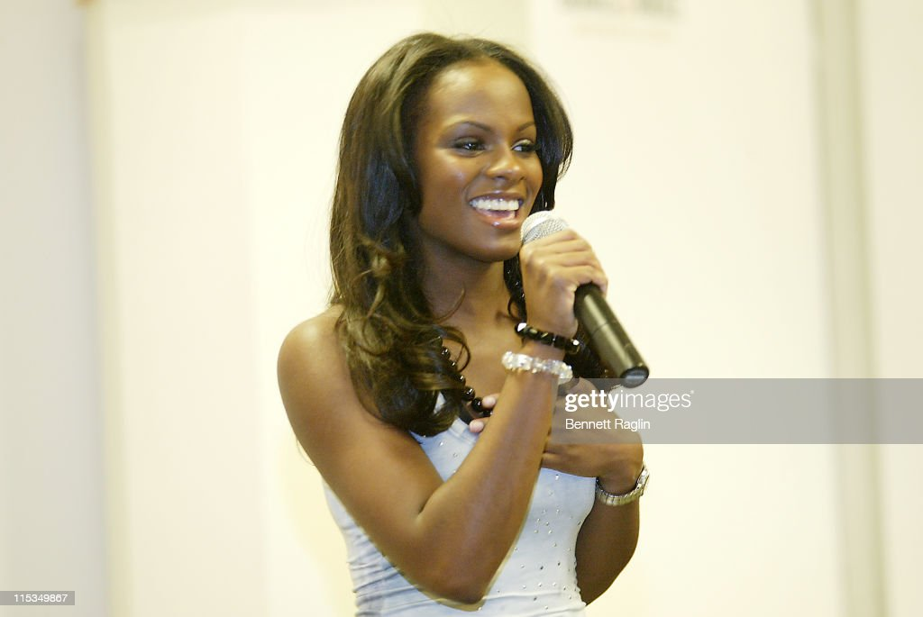 Tika Sumpter during The Cast of 'One Life to Live' Signs a CD for Hurricane Disaster Relief March 8 2006 at Barnes Noble Lincoln Triangle in New York...