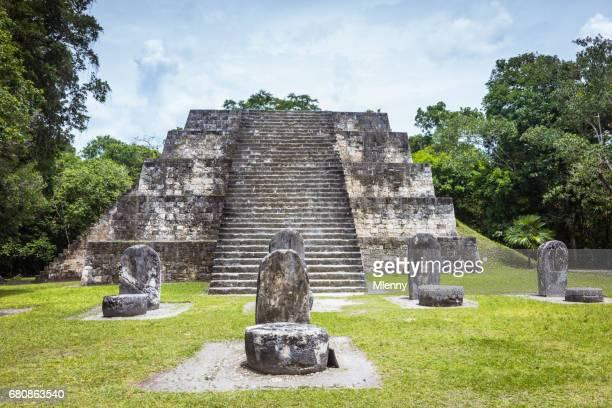 Tikal Guatemala Maya Ruins Pyramid