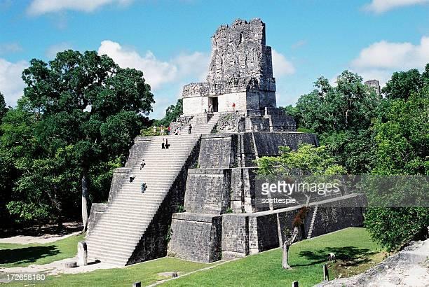 Tikal templo Guatemala