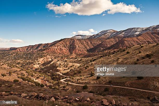Tike n' tal pass, High Atlas Mountains, Morocco, North Africa