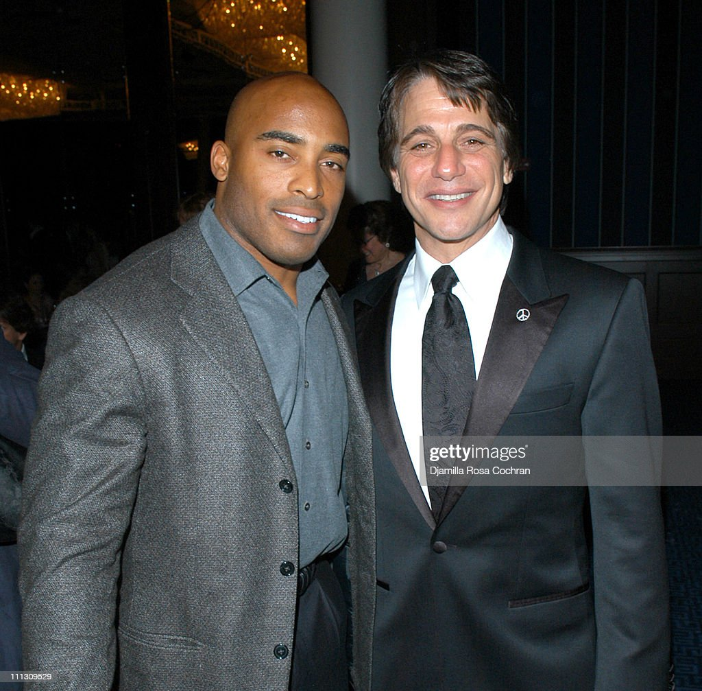 Tiki Barber and Tony Danza during Tuberous Sclerosis Alliance Gala Sponsored by Gotham Magazine at Sheraton New York Hotel Towers in New York City...