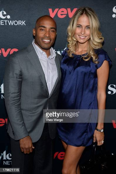 Tiki Barber and wife Traci Lynn Johnson attend the VEVO and Styled To Rock Celebration Hosted by Actress Model and 'Styled to Rock' Mentor Erin...