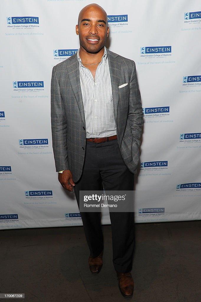 Tiki Barber attends the Einstein Emerging Leaders 2nd Annual Gala at Dream Downtown on June 6, 2013 in New York City.
