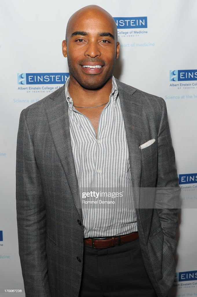<a gi-track='captionPersonalityLinkClicked' href=/galleries/search?phrase=Tiki+Barber&family=editorial&specificpeople=184538 ng-click='$event.stopPropagation()'>Tiki Barber</a> attends the Einstein Emerging Leaders 2nd Annual Gala at Dream Downtown on June 6, 2013 in New York City.