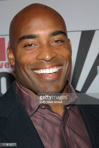 Barber Tiki : Tiki Barber during FOX News Channels 10th Anniversary VIP Party ...