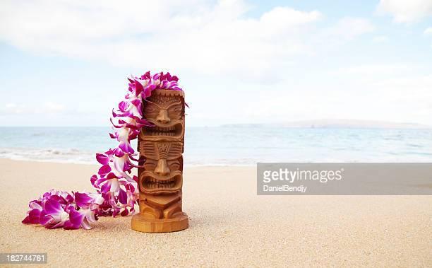 Tiki On The Beach
