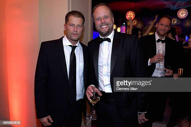 Til Schweiger and Smudo attend the GQ Men of the year Award 2015 after show party at Komische Oper on November 5 2015 in Berlin Germany