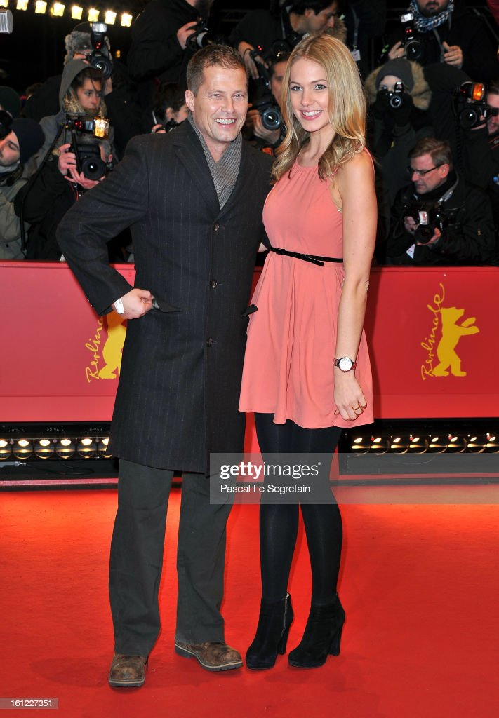 Til Schweiger and Svenja Holtmann attend the 'The Neccessary Death of Charlie Countryman' Premiere during the 63rd Berlinale International Film Festival at Berlinale Palast on February 9, 2013 in Berlin, Germany.