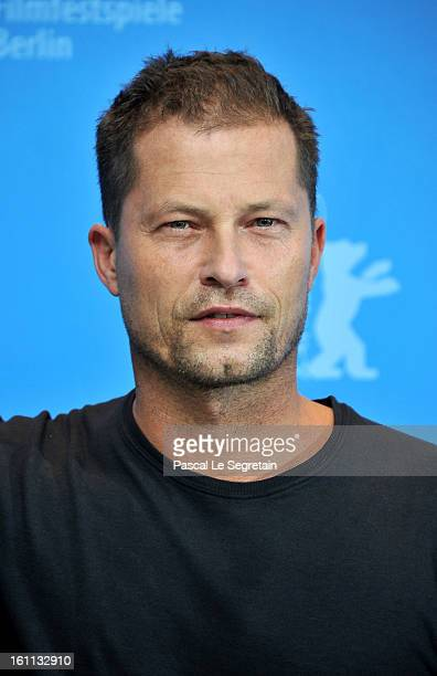 Til Schweiger attends the 'The Neccessary Death of Charlie Countryman' Photocall during the 63rd Berlinale International Film Festival at Grand Hyatt...