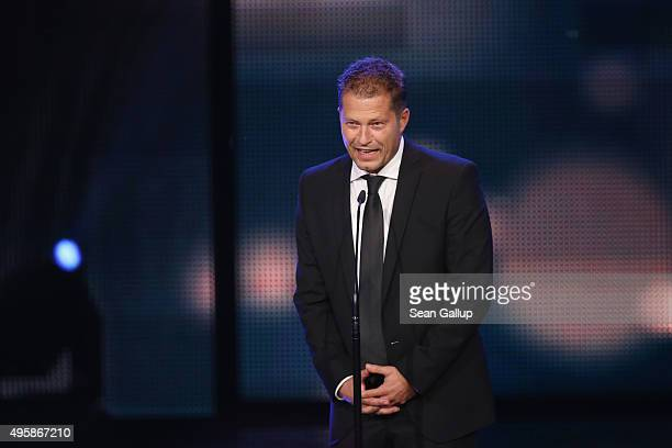 Til Schweiger is seen on stage at the GQ Men of the year Award 2015 show at Komische Oper on November 5 2015 in Berlin Germany