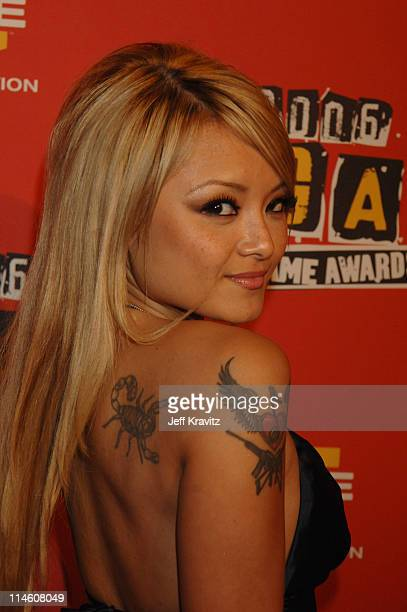 Tila Tequila during Spike TV's 2006 Video Game Awards Hosted By Samuel L Jackson Red Carpet at The Galen Center in Los Angeles California United...
