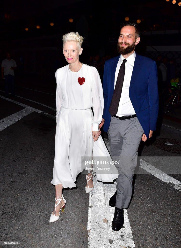 Celebrity Sightings in New York City - June 8, 2017