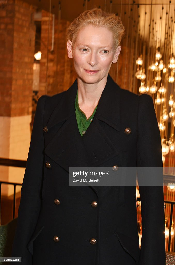 <a gi-track='captionPersonalityLinkClicked' href=/galleries/search?phrase=Tilda+Swinton&family=editorial&specificpeople=202991 ng-click='$event.stopPropagation()'>Tilda Swinton</a> attends a photocall for 'A Bigger Splash' at Picturehouse Central on February 7, 2016 in London, England.