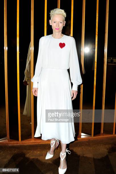 Tilda Swinton attends Netflix hosts the after party for 'Okja' at AMC Lincoln Square Theater on June 8 2017 in New York City