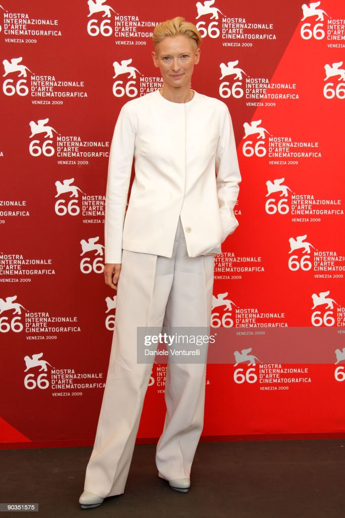 Tilda Swinton attends the 'Io Sono L'Amore' photocall at the Palazzo del Casino during the 66th Venice Film Festival on September 5 2009 in Venice...