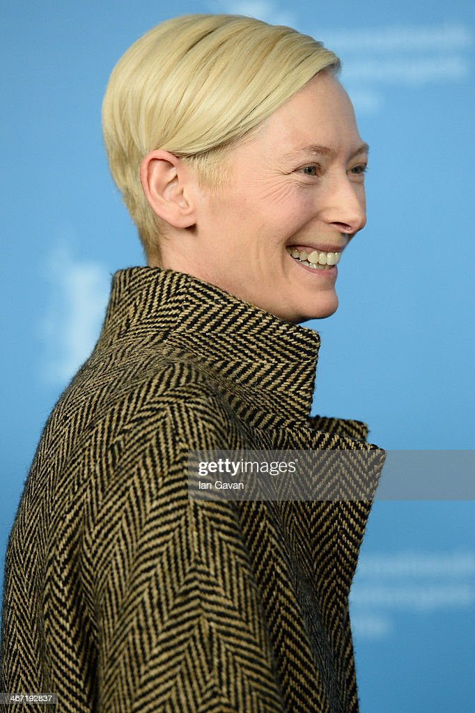 <a gi-track='captionPersonalityLinkClicked' href=/galleries/search?phrase=Tilda+Swinton&family=editorial&specificpeople=202991 ng-click='$event.stopPropagation()'>Tilda Swinton</a> attends the 'The Grand Budapest Hotel' photocall during 64th Berlinale International Film Festival at Grand Hyatt Hotel on February 6, 2014 in Berlin, Germany.