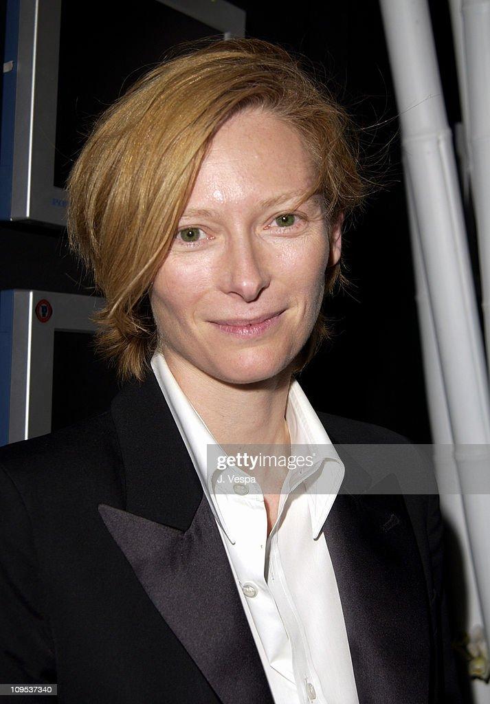 "2002 Venice Film Festival - ""Tilda Swinton - The Love Factory"" Party"