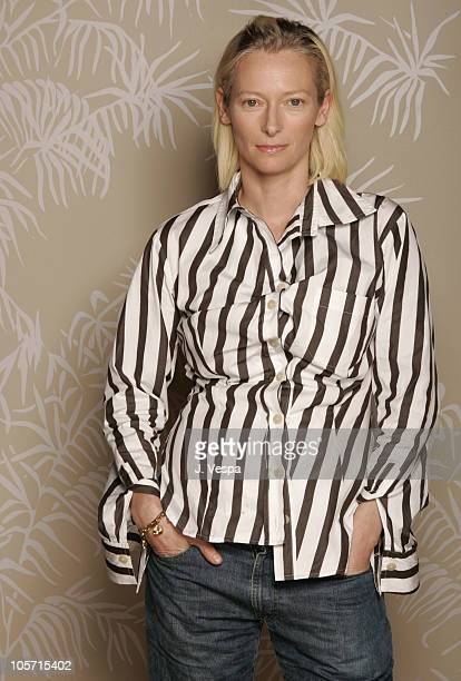 Tilda Swinton during 2005 Toronto Film Festival 'Thumbsucker' Portraits at HP Portrait Studio in Toronto United States