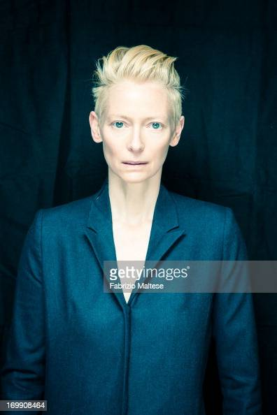 Tilda Swinton is photographer for Self Assignment on May 20 2013 in Cannes France