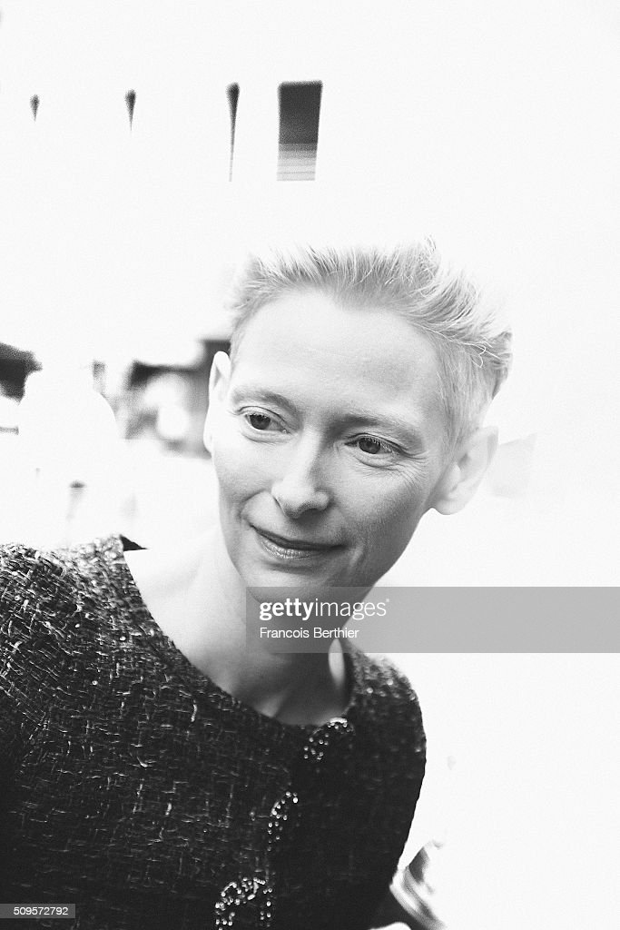 <a gi-track='captionPersonalityLinkClicked' href=/galleries/search?phrase=Tilda+Swinton&family=editorial&specificpeople=202991 ng-click='$event.stopPropagation()'>Tilda Swinton</a> is seen during the 66th Berlinale International Film Festival on February 11, 2016 in Berlin, Germany.