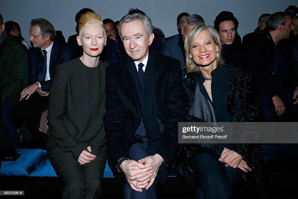Berluti : Front Row - Paris Fashion Week - Menswear F/W 2017-2018
