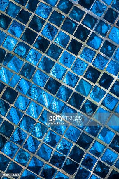 Tile, Mosaic, Glass, Luang Prabang, Laos