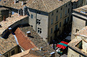 Tile Roofed Buildings in Uzes