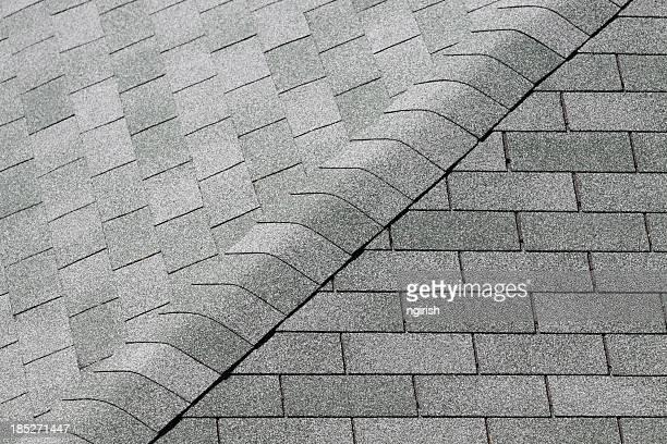 Mattonelle di tetto di un colle