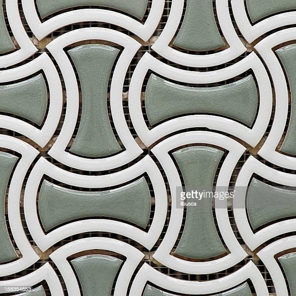Carreaux de textures: round mosaïque