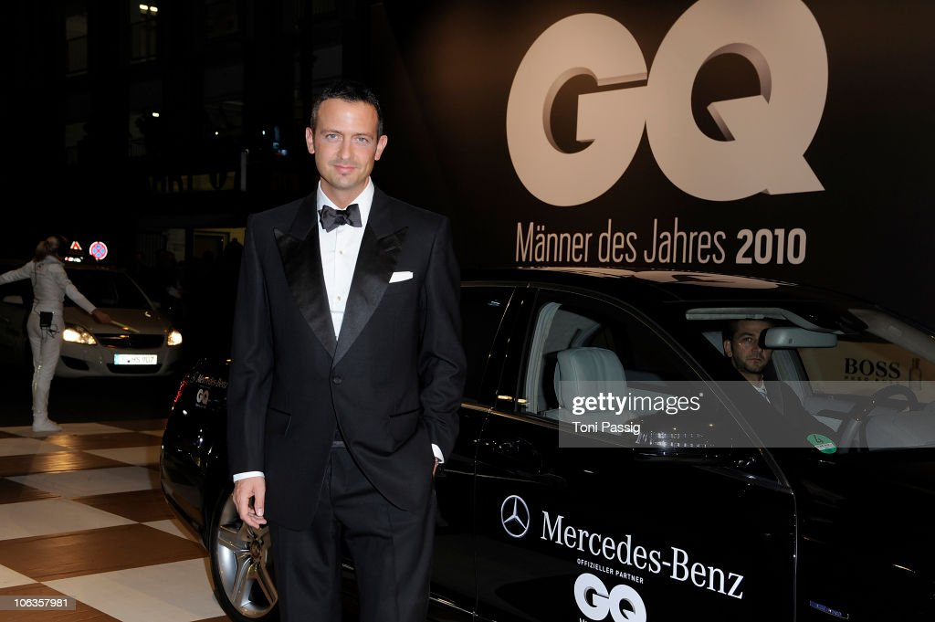 Till Broenner attends the GQ Men Of The Year 2010 award ceremony at Komische Oper on October 29, 2010 in Berlin, Germany.