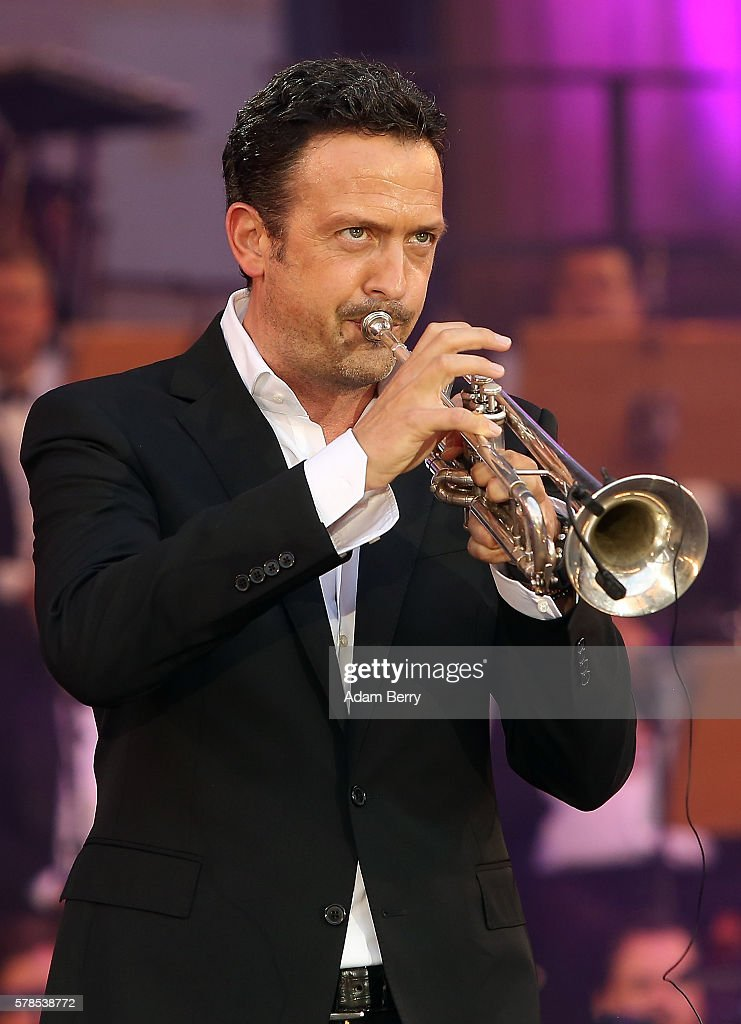 Till Broenner performs at the opening night of the Classic Open Air festival at Gendarmenmarkt on July 21 2016 in Berlin Germany