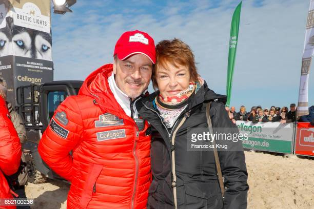 Till Demtroeder and Katrin Sass during the 'Baltic Lights' charity event on March 11 2017 in Heringsdorf Germany Every year German actor Till...