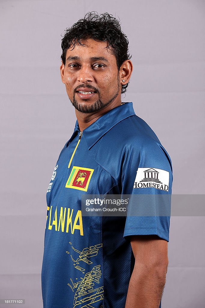 <a gi-track='captionPersonalityLinkClicked' href=/galleries/search?phrase=Tillakaratne+Dilshan&family=editorial&specificpeople=239186 ng-click='$event.stopPropagation()'>Tillakaratne Dilshan</a> of Sri Lanka poses on September 11, 2012 in Colombo, Sri Lanka.