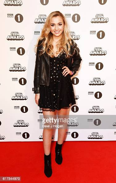 Tilly Keeper of EastEnders attends the BBC Radio 1's Teen Awards at SSE Arena Wembley on October 23 2016 in London England
