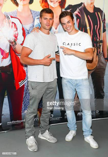 Tilman Poerzgen and Fabian Buch attend the Bibi and Tina photo call and award reception at Atelier on June 6 2017 in Berlin Germany