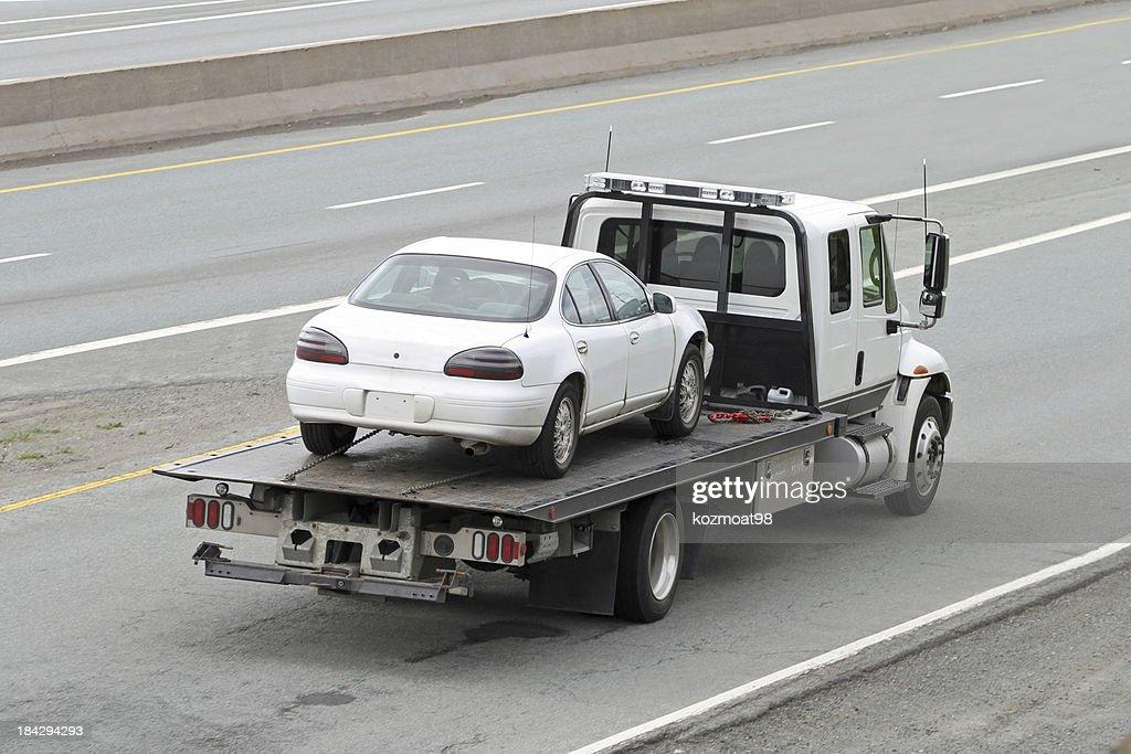 Tilt Bed Tow Truck