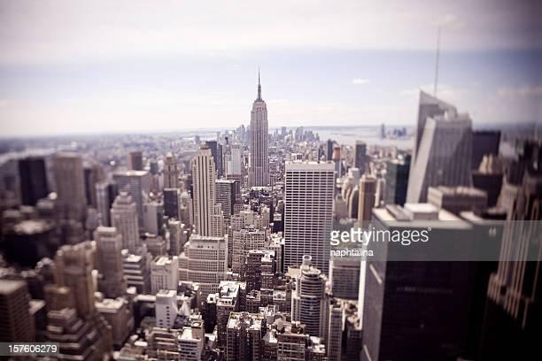 Tiltshift ニューヨークの写真