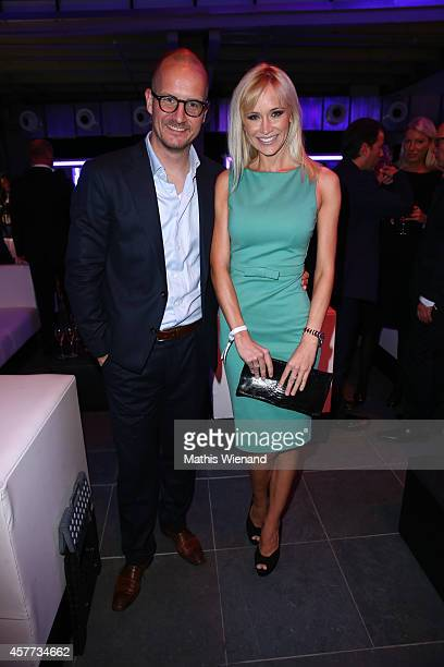Tim Affeld and Lisa Loch attend the InTouch Awards 2014 at Port Seven on October 23 2014 in Duesseldorf Germany