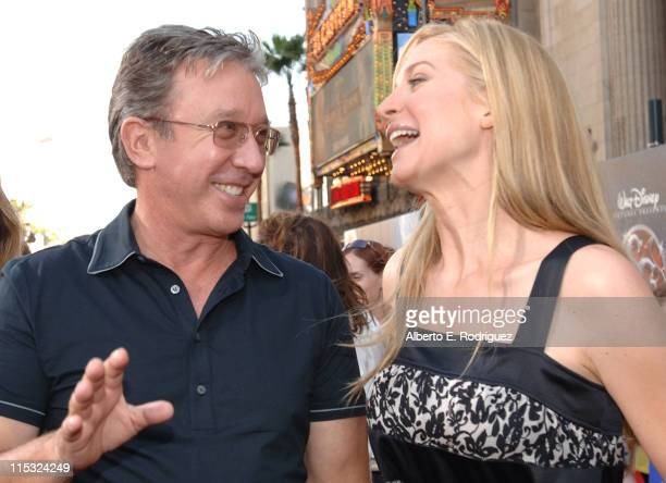 Tim Allen and Elizabeth Mitchell during 'The Santa Clause 3 The Escape Clause' Los Angeles Premiere Red Carpet at El Capitan in Hollywood California...