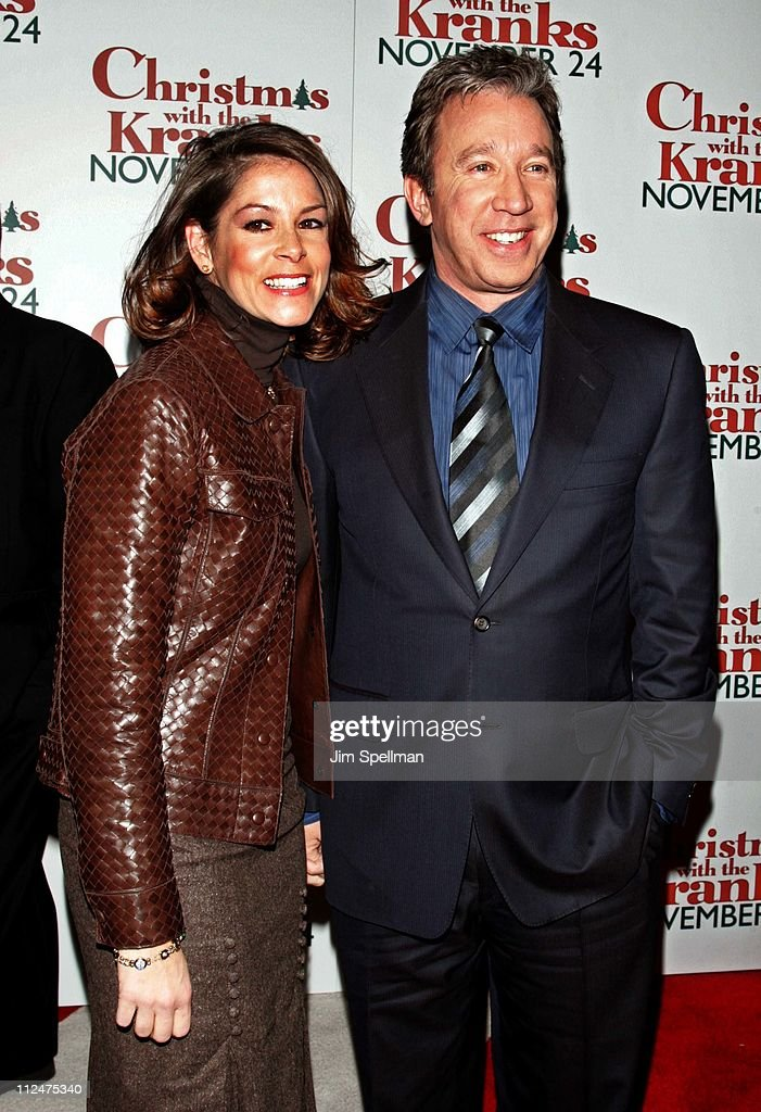 Tim Allen (right) and guest during 'Christmas with The Kranks' New York City Premiere - Outside Arrivals at Radio City Music Hall in New York City, New York, United States.